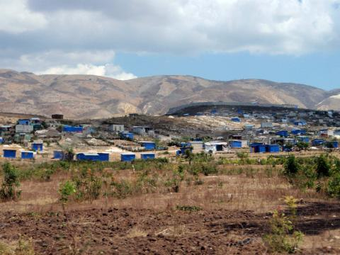 The outskirts of Port-au-Prince